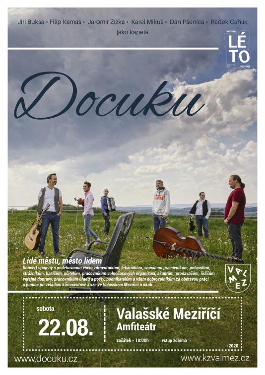 Koncert Docuku jako poděkování