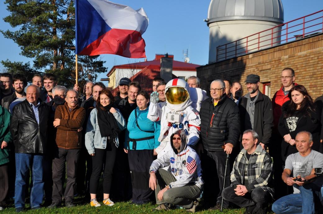 Fanoušky kosmonautiky hvězdárna nezklame