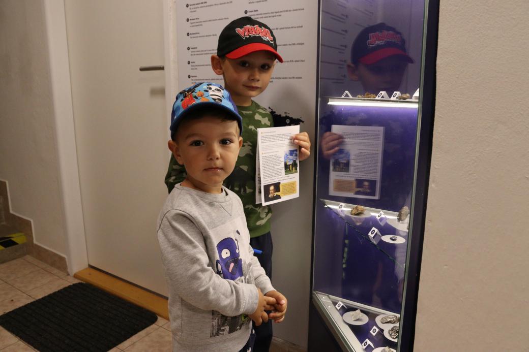 Muzeum zve na on-line výstavu meteoritů