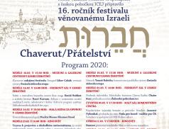 Ve Valašském Meziříčí začne 15. ročník programů věnovaných Izraeli
