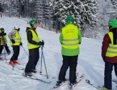 Chorvatské děti lyžovaly na Bílé, ty místní se mohou těšit kmoři
