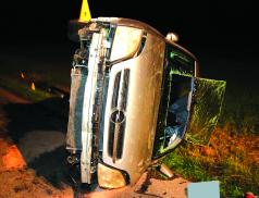 Po havárii řidič nadýchal přes dvě promile