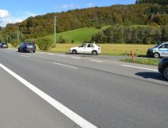 Při střetu s náklaďákem utrpěl cyklista těžké zranění