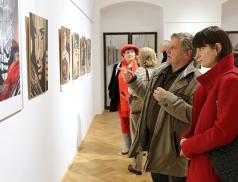 Na zámku začala výstava Dušana Cendelína