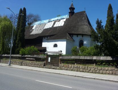 Kraj finančně přispěje na opravu kostela Nejsvětější Trojice ve Valašském Meziříčí