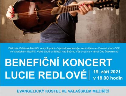 Den Diakonie 2021 s benefičním koncertem Lucie Redlové