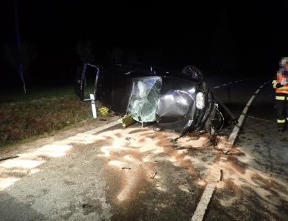 Dopravní nehoda u Brumova - Bylnice si vyžádala jeden život a čtyři zraněné