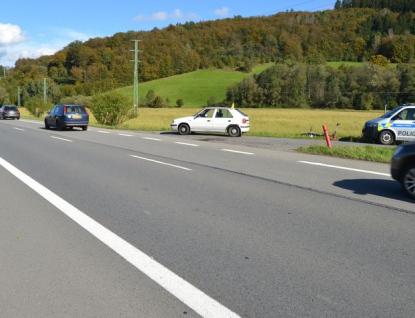 Dva cyklisté bourali pod vlivem alkoholu