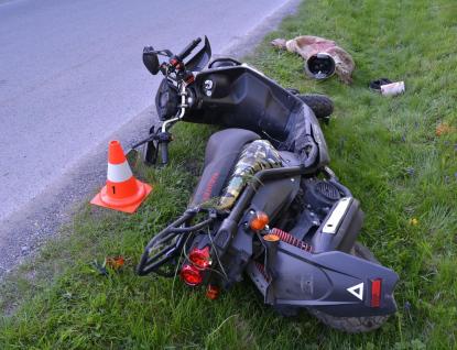 Devět nehod motorkářů během víkendu, sedm z nich sami zavinili