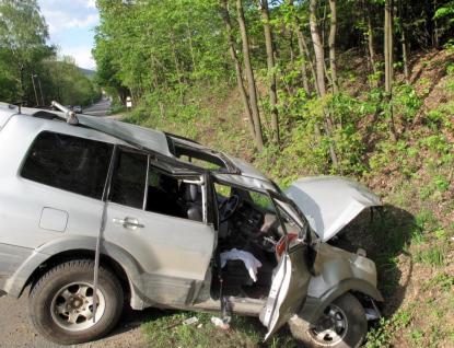 Šest zraněných po nehodě osobního vozu v Rožnově