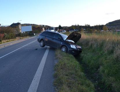 Řidička usnula za volantem a střetla se s autobusem