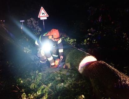 Silný vítr a déšť se přehnal Zlínským krajem