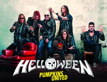 Absolutní headlinerem festivalu Masters of Rock jsou legendární HELLOWEEN – Pumpkins United