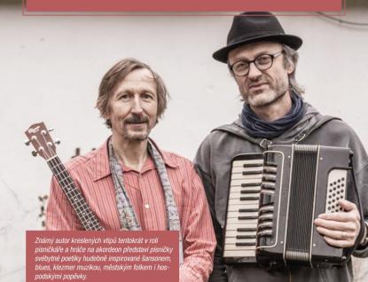 Humorista a písničkář Mirek Kemel přiveze intenzivní hudební zážitek
