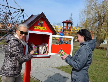 Valašské Meziříčí má první knihobudku