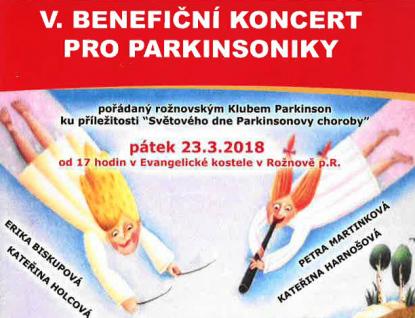 Benefiční koncert pro parkinsoniky