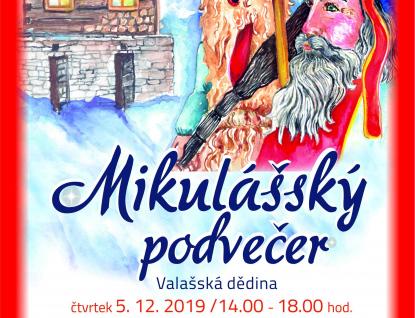 Mikulášský podvečer ve Valašském muzeu v přírodě