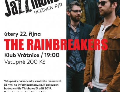 Britští The Rainbreakers už zítra v Rožnově