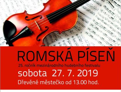 Mezinárodní festival Romská píseň po dvacáté páté!