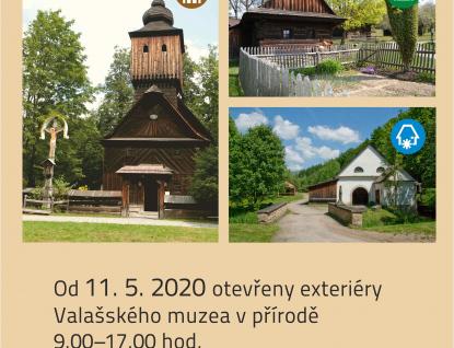 Valašské muzeum vpřírodě otevírá exteriéry