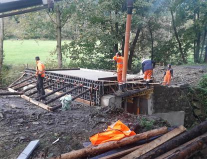 Oprava mostu Pod Pindulí dokončena