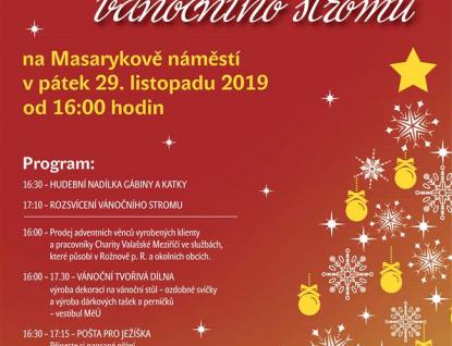 Vánoční jedle již je na Masarykově náměstí. Rozsvítí se vpátek 29. listopadu