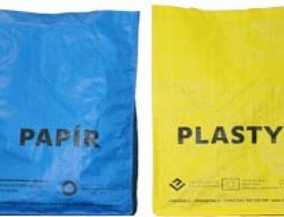 Rožnov rozdává tašky na tříděný odpad