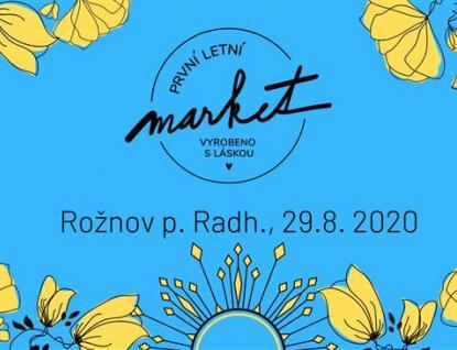Víkend vRožnově: Festival hlasy, 1. letní market i koncert Rožnovanky