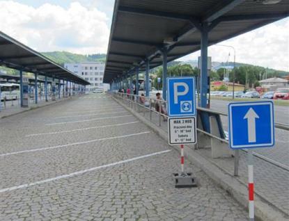 Autobusové nádraží na Vsetíně poslouží jako parkoviště