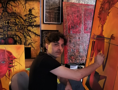 Daniel Grohmann vystavuje svou poctu Medkovi