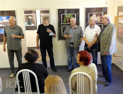 Skupina Foto Q v Galerii V Poschodí