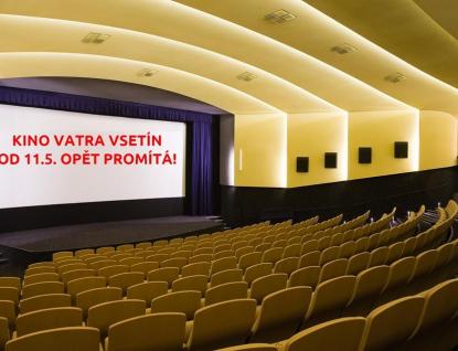 Kino Vatra obnoví provoz 11. května, do té doby promítá on-line