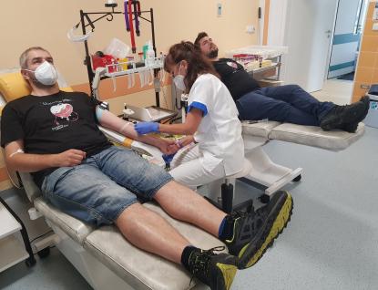 Baťovka zve dárce krve na akci Půl litru naděje s rádiem KISS