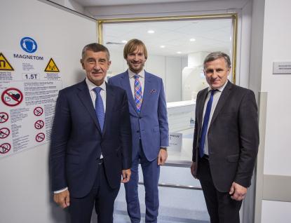 Hejtman Čunek: Premiér Babiš nám pomohl s financováním magnetické rezonance v Kroměříži