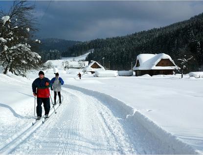 Kraj přispěje na obnovu venkova a úpravu lyžařských běžeckých tras