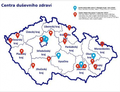 Vznikne 15 nových Center duševního zdraví, budou i v Kroměříži a v Hradišti