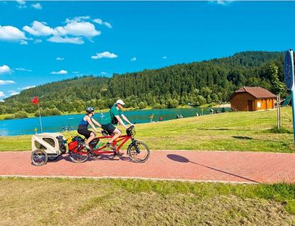 Kraj přispěje 12 milionů korun na vznik cyklostezky Bečva-Vlára-Váh