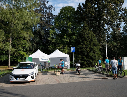 Přijďte si na Dny elektromobility vyzkoušet elektromobil či elektrokoloběžku!