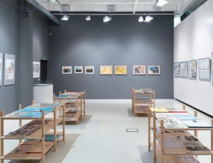 Krajská galerie vystavuje tvorbu architekta Pavla Šimečka