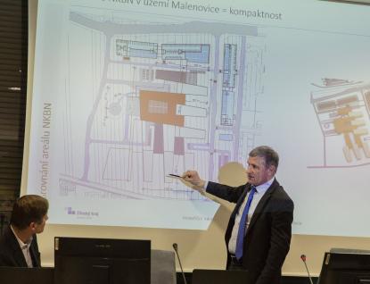 Hejtman Čunek: Nová nemocnice nabídne špičkovou medicínu pod jednou střechou