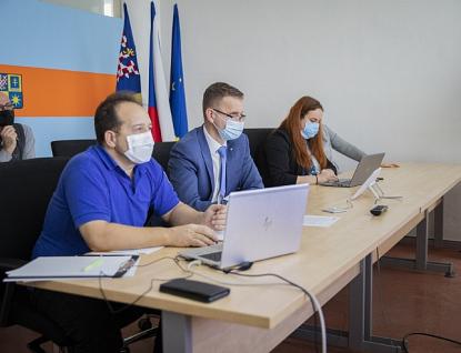 Očkovací strategií a vývojem epidemické situace se zabýval Krizový štáb Zlínského kraje