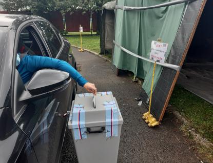 Ve Zlínském kraji začaly volby do krajského zastupitelstva a do části Senátu