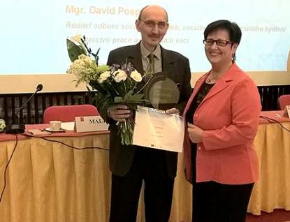 Pracovník Charity Vsetín Miroslav Kadlubiec získal ocenění GRATIAS 2018