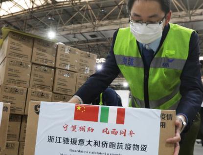 Čína prodala Italům zpět jejich humanitární pomoc, píše týdeník
