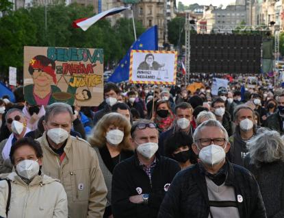 Demonstrace Milionu chvilek Necouvneme - Justici nedáme!, na které se sešly tisíce lidí, odstartovala sérii protestů za nezávislou justici