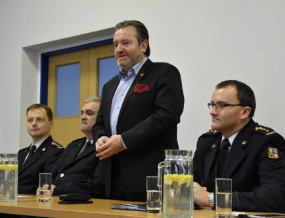 Vedení krajských hasičů ve Valašském Meziříčí zahájilo nový rok