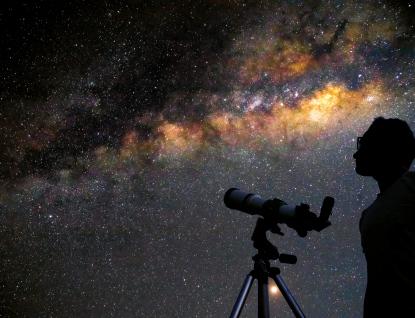 Vesmír při čaji a sušenkách