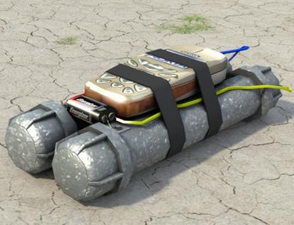 Policisté prohledávali tři objekty, kde měla být bomba