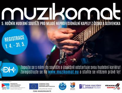Výzva pro kapely: Registrujte se do hudební soutěže Muzikomat