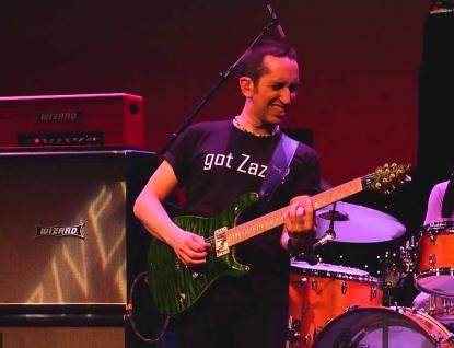 Kytarista Neil Zaza s kapelou míří do Rožnova